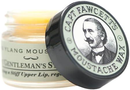 Captain Fawcett Ylang - Cera para bigotes, 15 ml, 1 paquete de una unidad