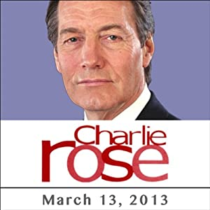Charlie Rose: Walter Modrys, Joseph McShane, Jon Meacham, and John DeGioia, March 13, 2013 Radio/TV Program