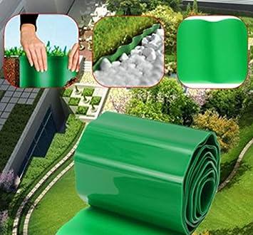 9 m plástico Flexible jardín hierba valla camino césped verde ...