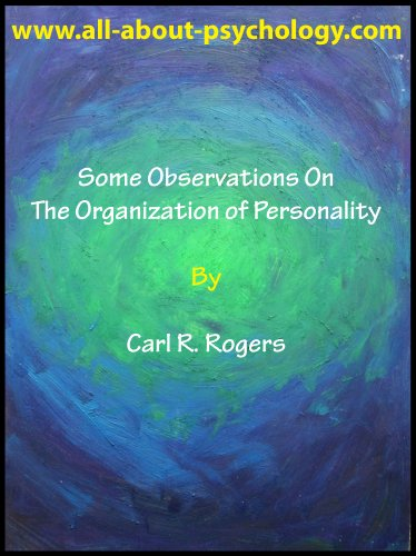 Some Observations On The Organization of Personality (English Edition)