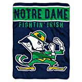 Notre Dame OFFICIAL Collegiate, Basic 60 x 80 Raschel Throw