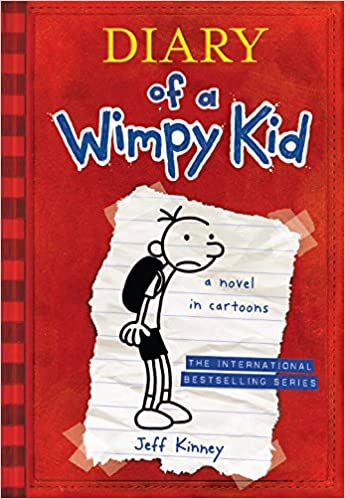diary of a wimpy kid a novel in cartoons jeff kinney