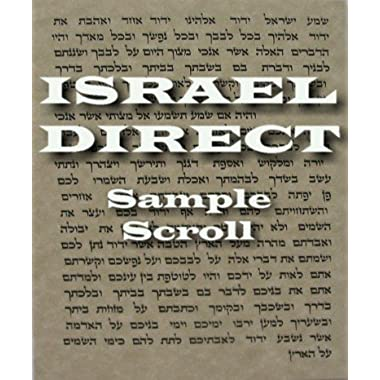 2 x (TWO) Non Kosher Hebrew Parchment / Klaf / Scroll for Mezuzah Mazuza Identical To A Kosher Parchment, But Printed Not Hand Written 2.5  x 2.7  . Great Gift For: Yom Kippur Rosh Hashanah Shabbat Purim Sokot Simchat Torah Hanukkah Passover Lag Baomer Shavuot Rabbi Bridesmaid Temple Shul Chupah Wedding Housewarming Thanksgiving Anniversary Bar Mitzvah Bat Mitzva And Jewish Homes. Jewish Art