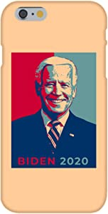 United States USA President Presidential Election Voting 2020 Joe Biden Democratic Party White House Candidates - Custom Case White Plastic Snap On Compatible with Apple iPhone 6+ (Plus) (Biden)