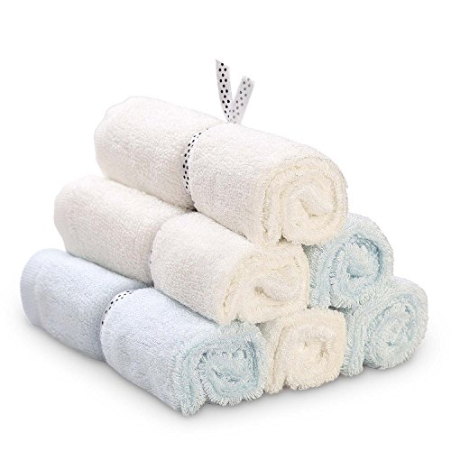 Soft Organic Washcloth Towels for Baby COMBABY 100% Natural