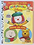 Big Best Book to Color Playhouse Disney Imagine and Learn