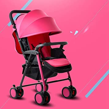 SKYyao Silla de Paseo,Cochecito,Carro portátil para bebés, reclinable, Paraguas Plegable Ligero, Amortiguador Ultraligero, Carro para niños: Amazon.es: ...