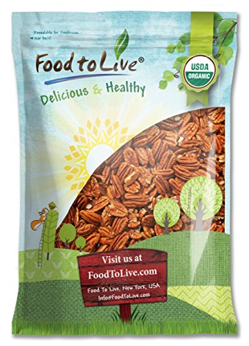 Food To Live ® Organic Pecans (Raw, No Shell) (6 Pounds) by Food to Live  (Image #8)
