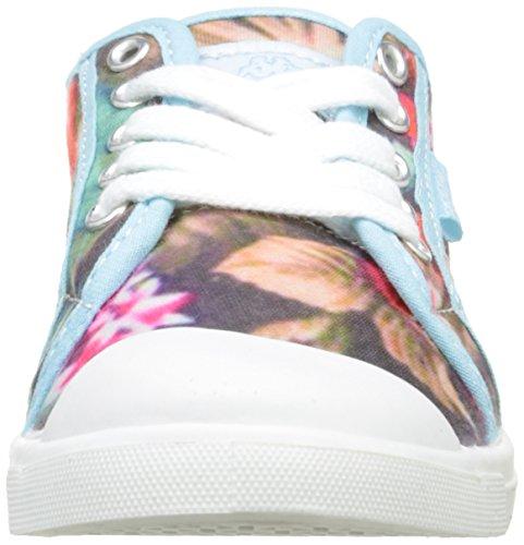 Kappa Keysy Unisex-Kinder Sneaker Mehrfarbig - Mehrfarbig (Blumenmuster)