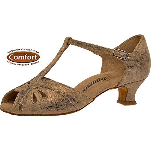 De 011 2 019 Spanish Bronce Femmes Cm Chaussures Diamant 311Cuir 4 Danse magic N8Pyvm0nwO