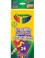 Crayola 24 Erasable Coloured Pencils Arts & Crafts