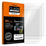 Spigen Glas tR Slim Nintendo Switch Screen Protector [ Tempered Glass ] 9H Hardness for Nintendo Switch 2017 (Pack of 3)