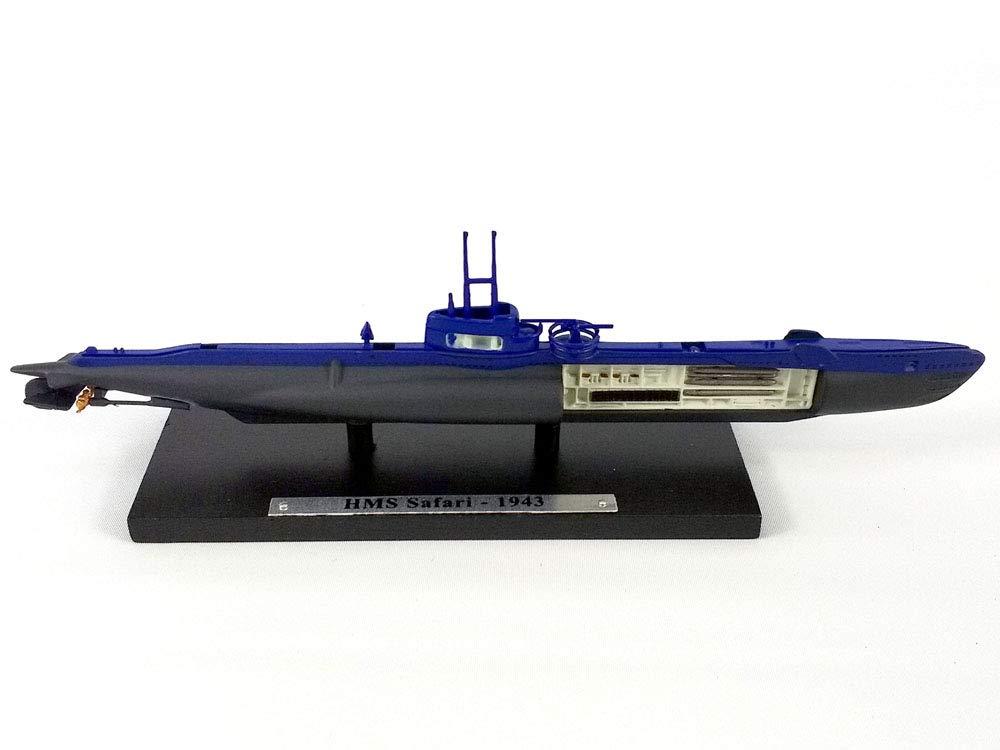 Atlas HMS Safari (P211) Royal Navy Submarine 1/350 Scale Diecast Metal Model
