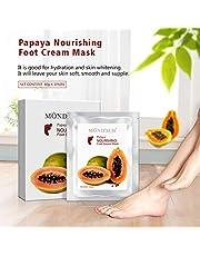 5 pares de valores hidratantes Máscaras Pies - Profesionales pies del bebé y calidad de spa Pies Tratamiento calcetines para los talones agrietados y los pies secos de la piel - Profundamente