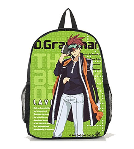 Dreamcosplay D.Gray-man Lavi Logo Black Backpack School Bag