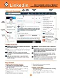 img - for LinkedIn Reference and Cheat Sheet: Profile optimization, networking tips, and job-finding basics book / textbook / text book