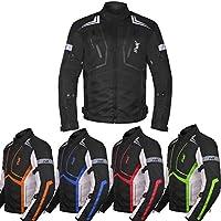 Motorcycle Jacket For Men Cordura Motorbike Racing Biker...