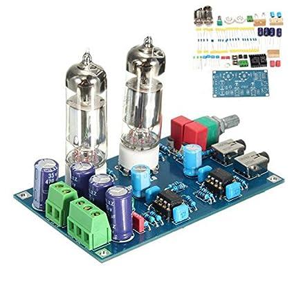 DIY Clase A 6J5 HiFi Amplificador de auriculares Kit de preamplificador de tubo de vacío