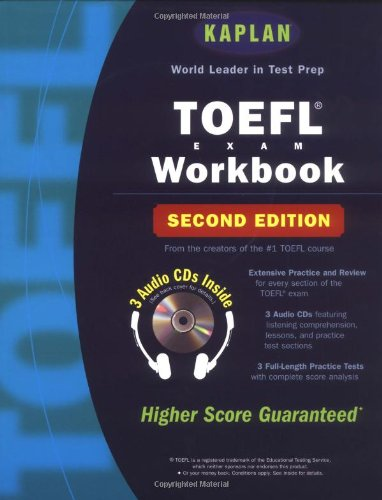 Kaplan TOEFL Workbook with 3 Audio CDs, Second Edition by Kaplan