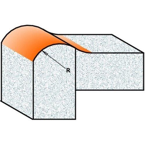 pour corian hw s 12 d r 7,93 25,4 x 22 CMT Orange Tools 980,531,11 Fraise x bord salvagoccia avec rod