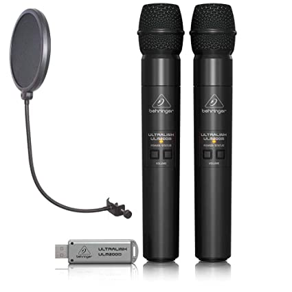 Amazon.com: Behringer Ultralink ULM202USB Digital Wireless ...