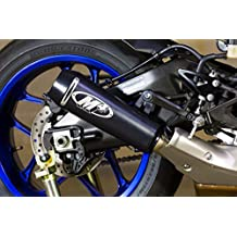M4 Yamaha YZF-R1 15-17 GP Mount Slip On Exhaust Black Satin