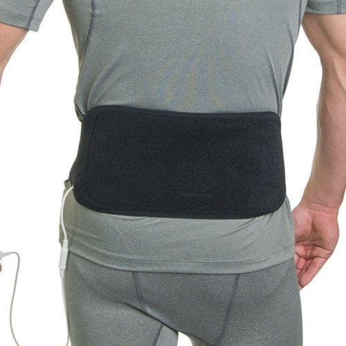 Venture Heated Clothing KB-1290 MAX Black Max 12V F.I.R. Heat Therapy at Home Back Brace by Venture Heated Clothing