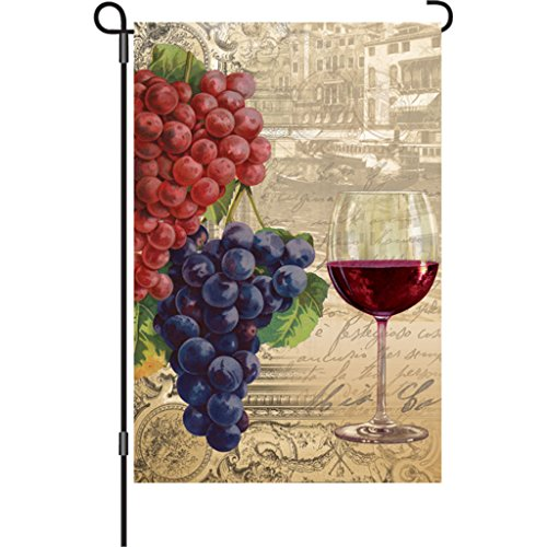 Premier Kites 12 in. Flag - Vintage Wine