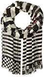 Marc Jacobs Women's Textured Zebra Paradise Stole In Black/Multi, One Size