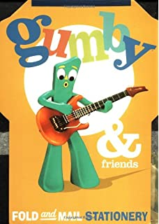 Gumby Friends Fold And Mail Stationery