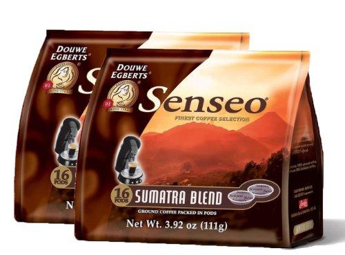 Senseo Sumatra Blend Coffee Pods - (Pack of 2)