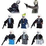 Indytreesmall® New Brand 6 PCS Minifigures Joker Model For Children Gift Education Toys