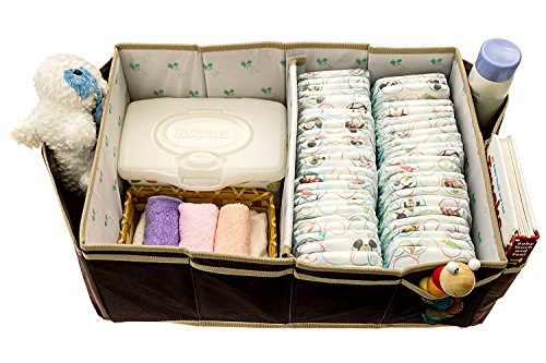 Buzzy Babee Diaper Organizer Coffee product image