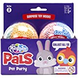 Educational Insights Playfoam Pals Pet Party 2-Pack: Surprise Egg with Squishy Playfoam