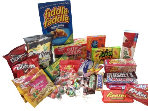 Thinking Quick Food Snacks Package