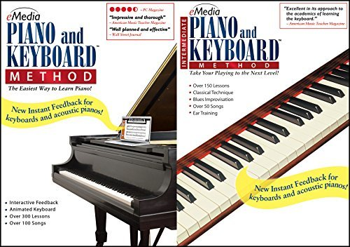 eMedia Piano and Keyboard Method Deluxe v3 [PC Download] by eMedia
