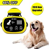 Depps Wireless Dog Containment System with Rechargeable Transmitter and Rechargeable Collar Receiver - Safe & Easy Install WiFi Radio Electric Dog Fence (1 Dog System Version 1)