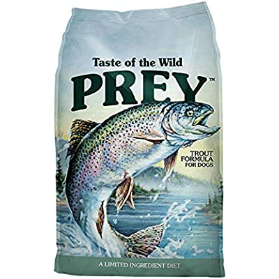 Prey Trout Limited Ingredient Recipe Dry Dog Food 25 lb