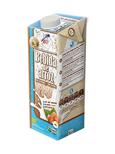 Bebida de arroz con avellanas BIO - La Finestra sul cielo - 1l: Amazon.es: Alimentación y bebidas