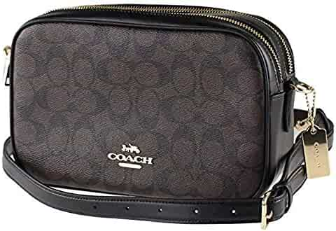 Coach Jes Double Zip Leather Crossbody