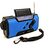 iRonsnow-IS-090-Dynamo-Emergency-Solar-Hand-Crank-Self-Powered-AMFMNOAA-Weather-Radio-with-2000mAh-Power-Bank-Flashlight-Reading-Lamp-and-SOS-Alarm