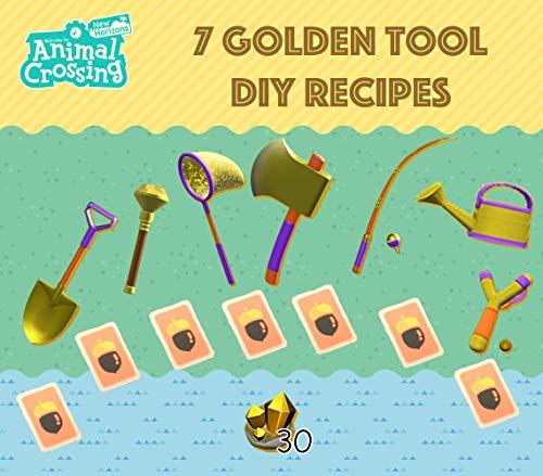 🥇 Animal Crossing New Horizons Herramientas doradas + recetas de bricolaje