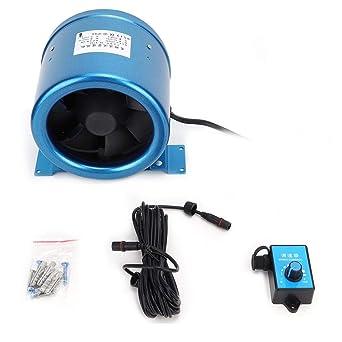 Ventilador de Conducto, AC220V 40W 5000 RPM AC220V 6in Controlador ...
