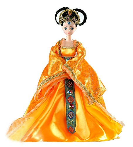 Concubine Costume (Tang Dynasty Imperial Concubine Costume Doll, Random Style)