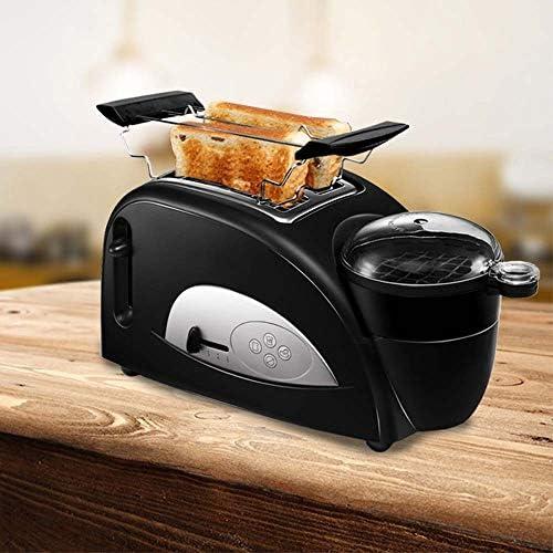 GSAGJsf Machine à Pain, Grille-Pain, 2 tranches Grille-Pain Automatique Rapide Chauffage Grille-Pain de ménage Petit-déjeuner Maker Multi-Fonctionnel Grille-Pain avec Plateau