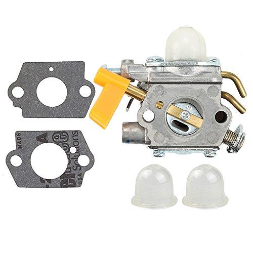 Homelite Gasket - Harbot 308054043 Carburetor with Gasket Primer Bulb for Homelite Ryobi 308054034 308054028 26CC Trimmer Blower