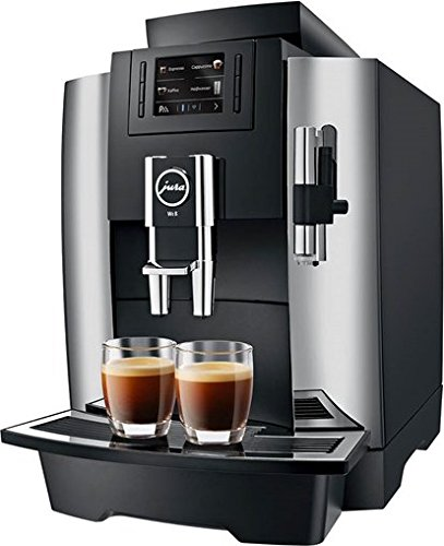 Jura 15145 WE8 Automatic Coffee Machine, Chrome