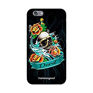 HomeSoGood The Gothic Devil Multicolor 3D Mobile Case For iPhone 6 (Back Cover)