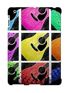 Hot Tpu Cover Case For Ipad/ 2/3/4 Case Cover Skin Design - Guitar Tic Tac Toe White Baseball Square