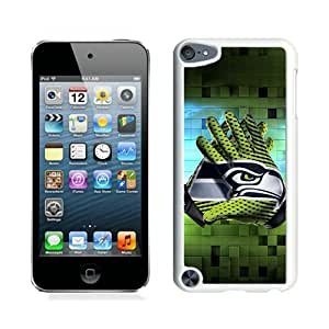 Excellent protection seattle seahawks 1 White Cover Case For iPod Touch 5
